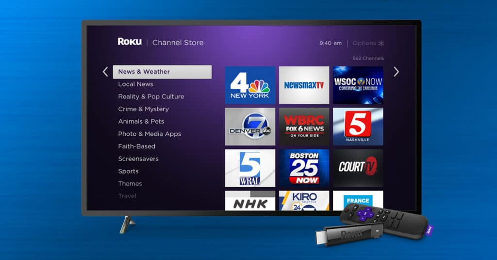 How to watch local news with a Roku device